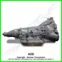 Custom Built Monster AOD Heavy Duty Performance Transmission 2WD