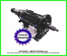 C4 Transmission Mild Rebuild 2WD, Case Filled