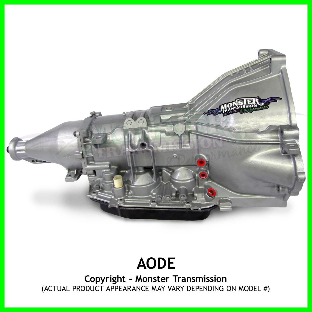 Aode Transmission Remanufactured Mild 2wd Ford Aode Transmission Rebuilt Aode Transmission
