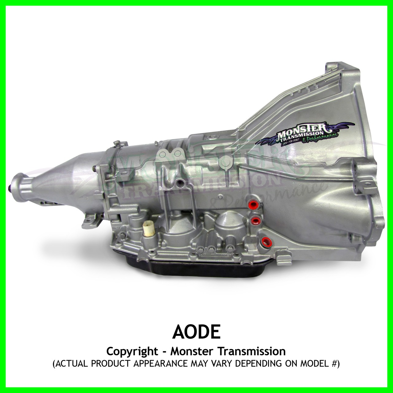 Aode Transmission Remanufactured Heavy Duty Performance 2wd Ford Aod Cooler Lines