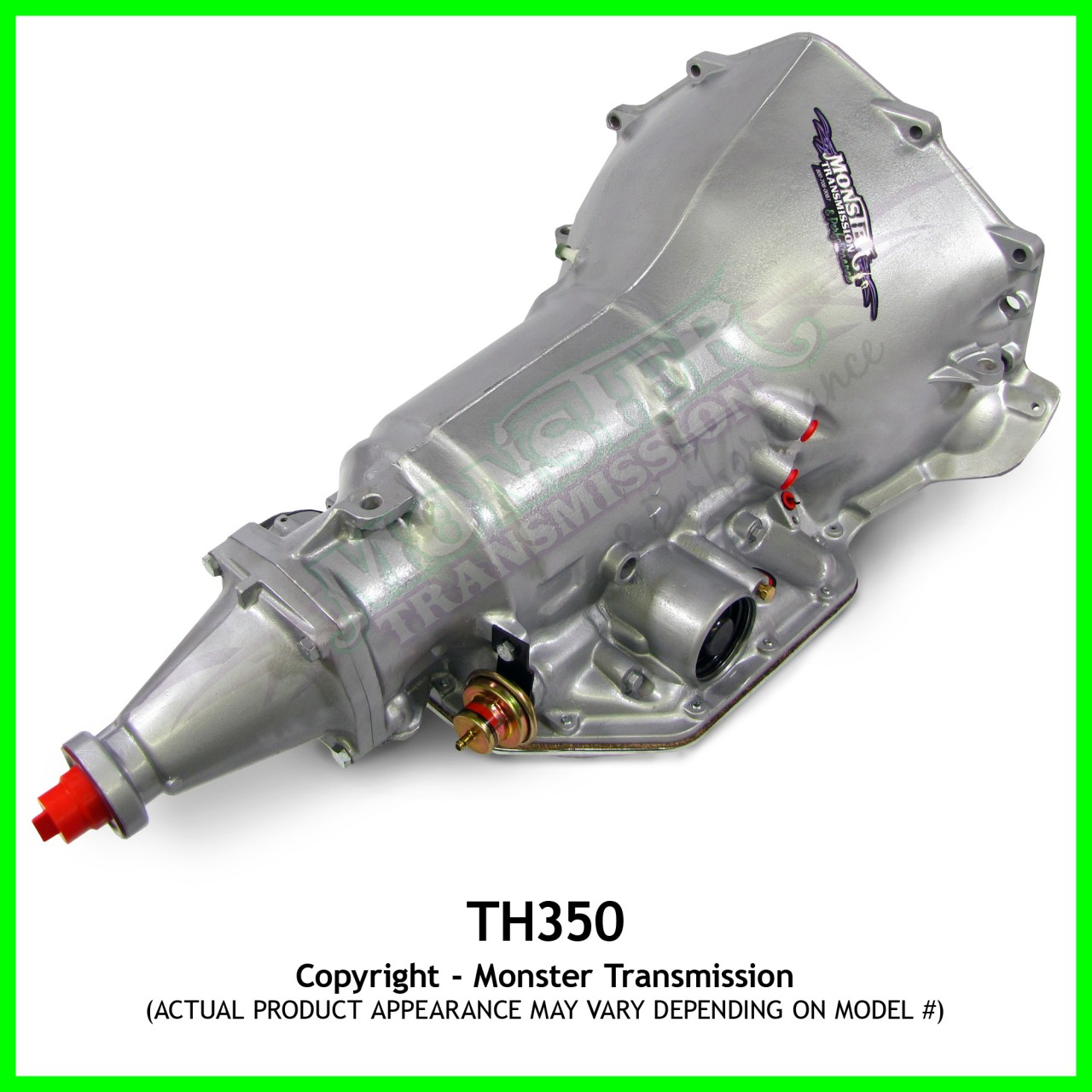 """Ford Racing Parts >> Turbo 350 TH350 Transmission High Performance Race Transmission : 6"""" Tail, Racing Th350, Race ..."""