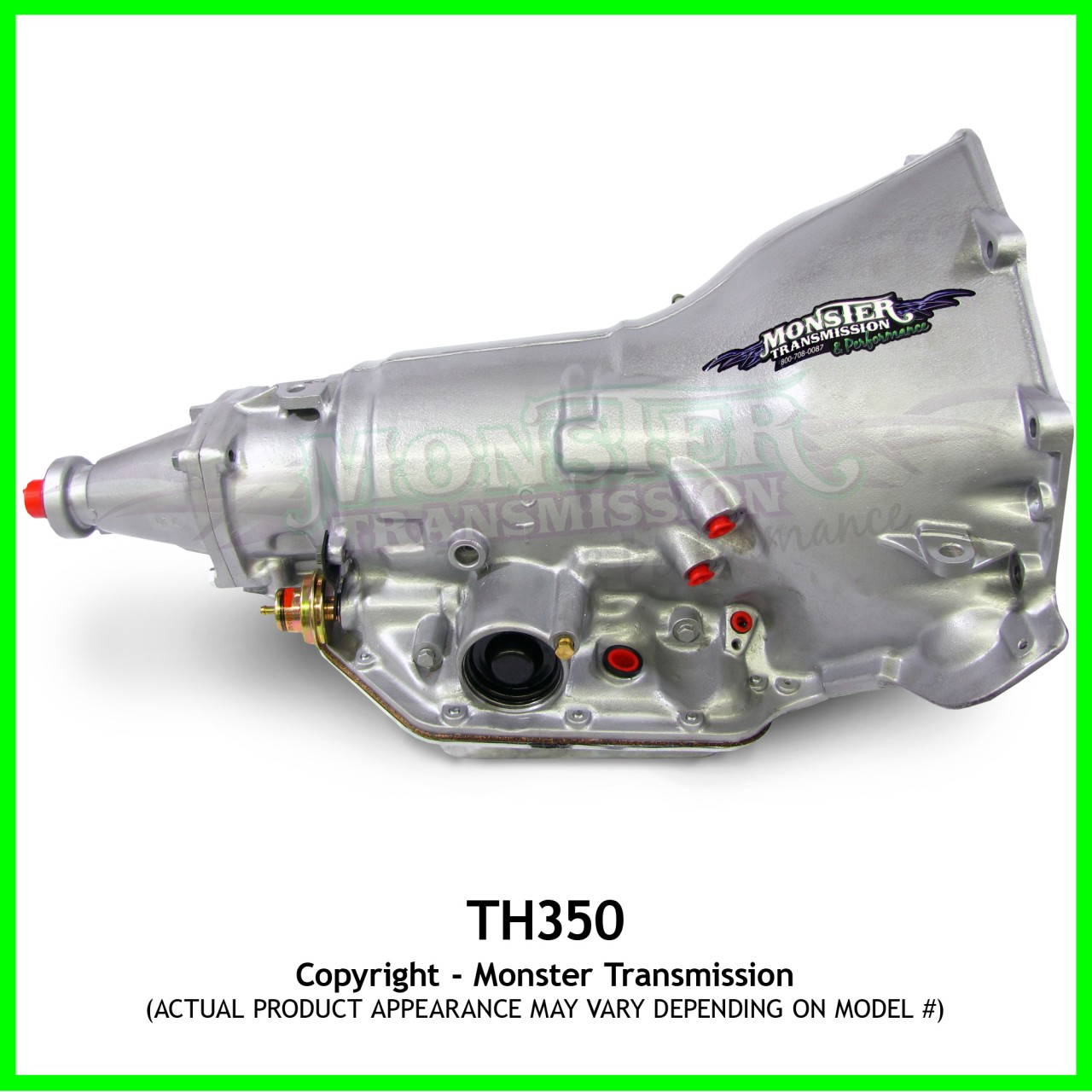 "Turbo 350 TH350 High Performance Race Transmission : 6"" Tail"