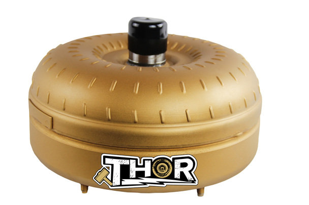 Thor Converters E4OD 4R100 1500 1700 Stall Torque Converter Heavy Hammer Level 2 Billet Single Clutch 6 Stud