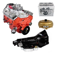 Monster Powertrain Package - Chevy 350 Engine, Rated at 325hp / 375tq with TH400 Transmission
