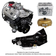 Monster Powertrain Package - Chevy 383 Engine, Rated at 380hp / 460tq with TH400 Transmission