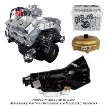 Monster Powertrain Package - Chevy 350 Engine, Rated at 375hp / 400tq with TH400 Transmission
