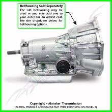 4L60E/4L70E Transmission 4X4 Heavy Duty 4WD, 2006-2009