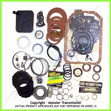 4L80E SS Mega Monster Transmission Complete Rebuild Kit, 1991-1996