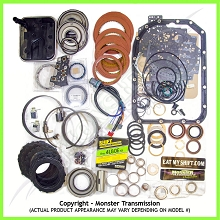 4L80E SS Mega Monster Transmission Complete Rebuild Kit 2004-UP