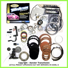 4R70W SS Mega Monster Transmission Complete Rebuild Kit: 2004-2007
