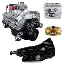 Monster Powertrain Package - Chevy 350 Engine, Rated at 405hp / 410tq with 700R4 Transmission