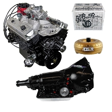 Monster Powertrain Package - Chevy 383 Engine, Rated at 380hp / 460tq with 700R4 Transmission