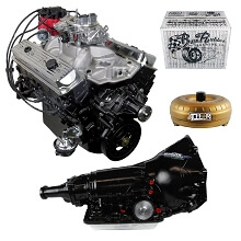 Monster Powertrain Package - Chevy 350 Engine, Rated at 350hp / 400tq with 700R4 Transmission