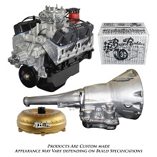 Monster Powertrain Package - 408 Dodge Crate Engine - Rated at 430Hp / 500tq with TF8/727 Transmission