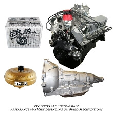 Monster Powertrain Package - Ford 347 Engine, Rated at 410hp / 415tq with AOD Transmission