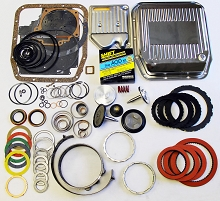 AOD SS Mega Monster Transmission Complete Rebuild Kit: 1983-89