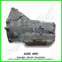 AODE Heavy Duty Performance Transmission 4x4