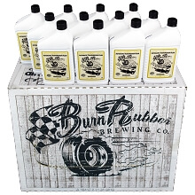 Burn Rubber<sup>®</sup> Brewing Universal Synthetic Cider, Auto Transmission Fluid,  1 Case (12 Quarts)