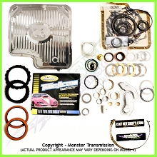 C6 SS Mega Monster Transmission Complete Rebuild Kit: 1967-UP