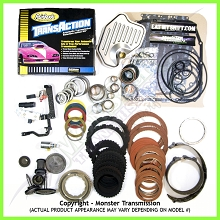 4R70W SS Mega Monster Transmission Complete Rebuild Kit: 1998-03