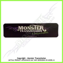Monster Transmission Decal (Bumper Sticker)