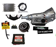 4L60E SS Transmission Master Conversion Package 2WD, Non-LS engines, 1pc Case