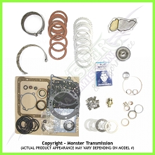 C4 Mega Monster Transmission Complete Rebuild Kit: 1970-81
