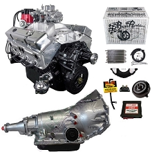 Monster Powertrain Package - Chevy 350 Engine, Rated at 375hp / 400tq with 700R4 Transmission