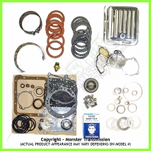 C4 SS Mega Monster Transmission Complete Rebuild Kit: 1970-81