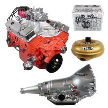 Monster Powertrain Package - Chevy 350 Engine, Rated at 325hp / 375tq with TH350 Transmission