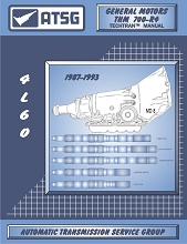 Technical Book / Manual: 700R4 / 4L60 Transmission 1987-1993