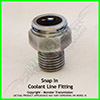 Chevrolet Snap In Coolant Line Fitting
