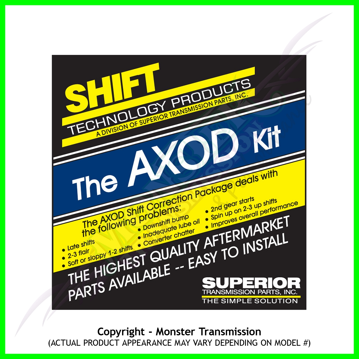 Axod Transmission Valve Body Ford Wiring Harness Kit Monster Parts 1200x1200