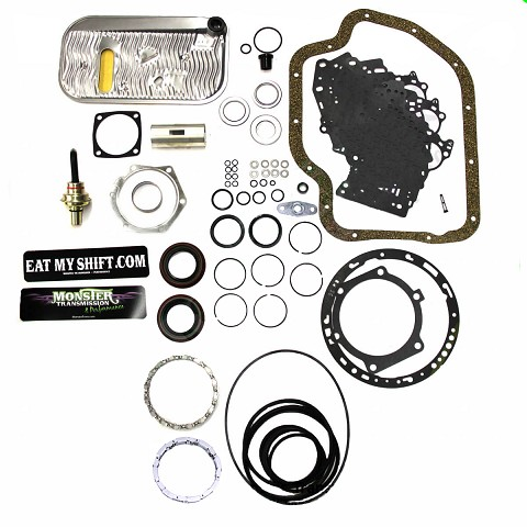TH-400 Mega Monster Transmission Complete Rebuild Kit