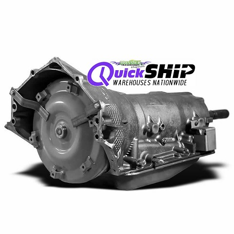 Quick Ship 4L80E Transmission with Free Torque Converter