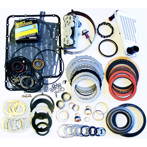 4R100 Mega Monster Transmission Complete Rebuild Kit: 1998-03-MERCH