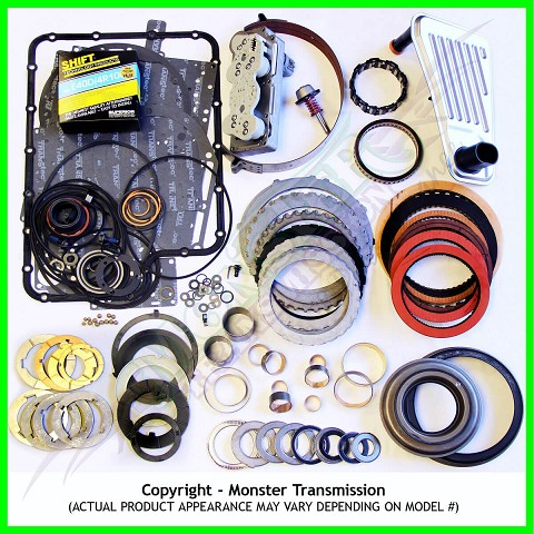 4R100 Mega Monster Transmission Complete Rebuild Kit: 1998-03