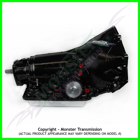 Custom Built Monster 700R4 SS Xtreme Performance Transmission 4WD Non-Lockup