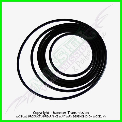 4L65E / 700R4 / 4L60 / 4L60E Teflon Ring Kit, Servo Only (82-06)
