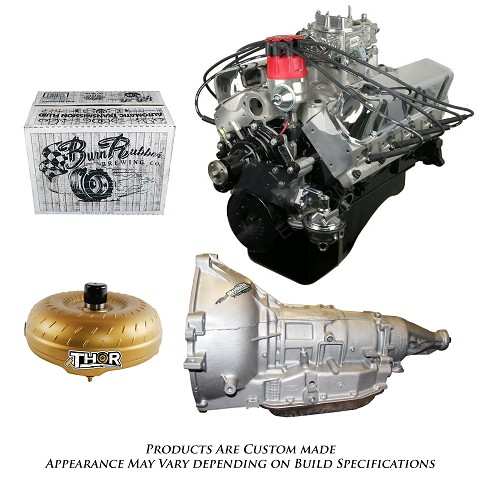 Monster Powertrain Package - Ford 302 Engine, Rated at 365hp / 370tq with AOD Transmission