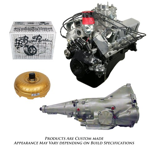 Monster Powertrain Package - Ford 302 Engine, Rated at 365hp / 370tq with C6 Transmission