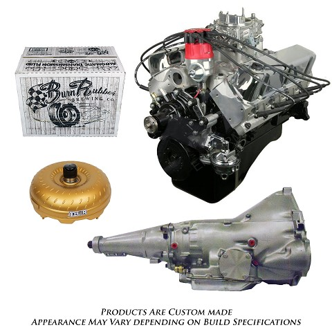 Monster Powertrain Package - Ford 347 Engine, Rated at 410hp / 415tq with C6 Transmission