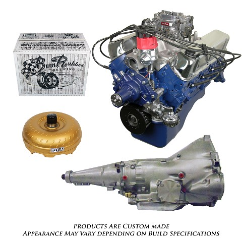 Monster Powertrain Package - Ford 302 Engine, Rated at 300hp / 335tq with C6 Transmission