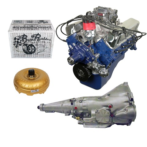 Monster Powertrain Package - Ford 302 Engine, Rated at 300hp / 335tq with AOD Transmission