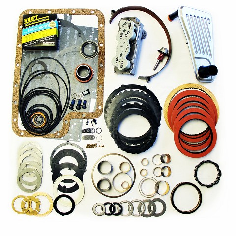E4OD Mega Monster Transmission Complete Rebuild Kit: 1996-97