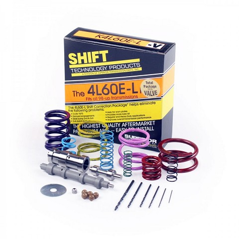 Superior 4L60E Shift Correction Kit W/ Boost Valve