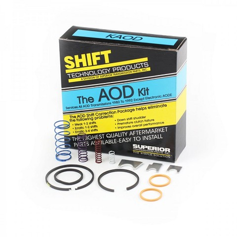 Superior Valvebody Shift Correction Kit: AOD MERCH