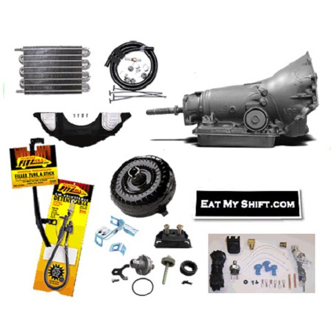 700R4 SS Transmission Master Conversion Package 2WD