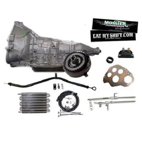 Ford AOD HD Transmission Master Conversion Package 2WD