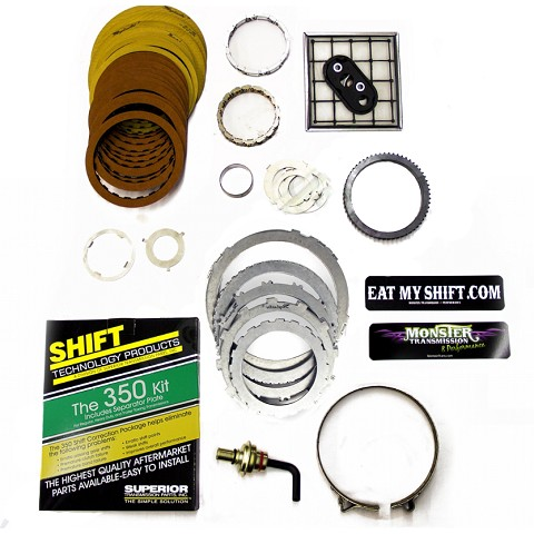 TH-350 Mega Monster Transmission Complete Rebuild Kit